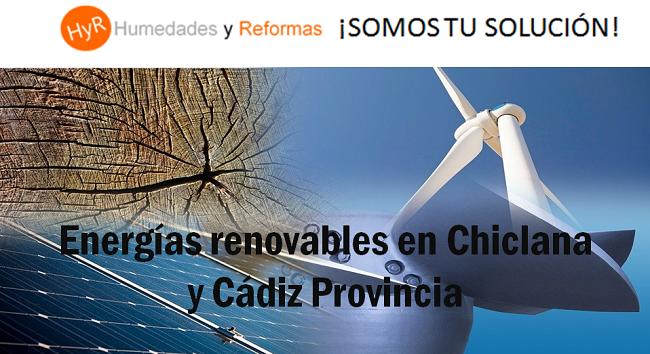 energía renovable chiclana y cádiz provincia