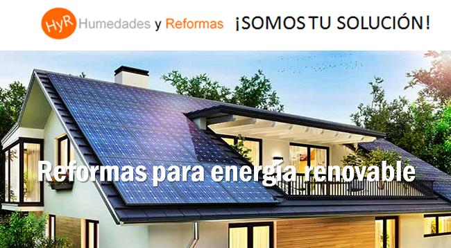 reformas para energía renovable
